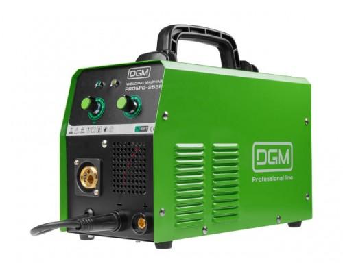Полуавтомат сварочный DGM PROMIG-253E (220В; MIG/MAG/FLUX; евроразъем; смена полярности)