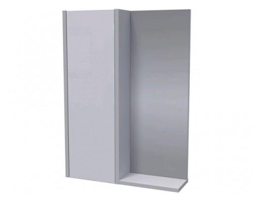 Полка зеркальная 50 Line со шкафом, АВН