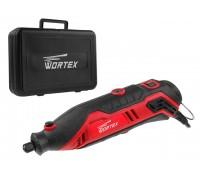 Гравер электрический WORTEX MG 3214 E в чем. + аксессуары (140 Вт, 10000 - 35000 об/мин, цанга 2.3 и 3.2 мм, чем. +21 аксесс., гибкий вал, держатель)