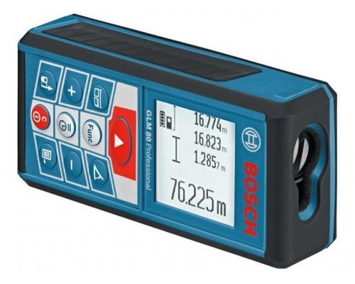 Дальномер лазерный BOSCH GLM 80 в кор. (0.05 - 80 м, +/- 2 мм/м, IP 54)