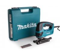 Лобзик электрический MAKITA 4350 FCT в чем. + набор пилок (720 Вт, пропил до 135 мм, подсветка)