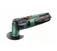 Многофункциональный инструмент (реноватор) BOSCH PMF 250 CES в чем. + набор оснастки (250 Вт, 15000 -20000 об/мин, Starlock)
