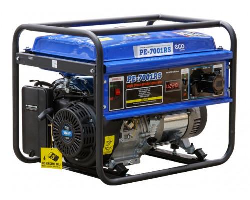 Электростанция (генератор бензиновый) ECO PE-7001RS (5.5 кВт, 230 В, бак 25.0 л, вес 70 кг)
