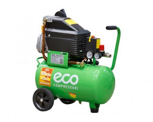 Компрессор ECO AE-251-3 (235 л/мин, 8 атм, коаксиальный, масляный, ресив. 24 л, 220 В, 1.50 кВт)