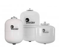 Мембранный бак для ГВС Wester Premium WDV 35 (Контрфланец из нержавеющей стали. Пригоден для накопления воды после обратного осмоса.)