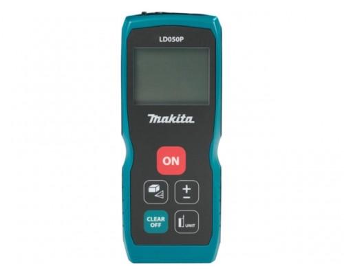 Дальномер лазерный MAKITA LD 050 P в кор. (0.05 - 50 м, +/- 2 мм/м, IP 54)